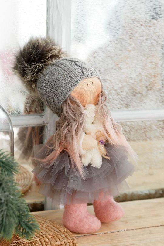 Кукла зимняя